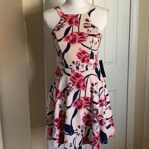 ✔️Jodi Kristopher floral mini dress Size1